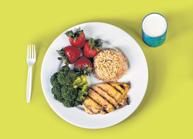 Unhealthy Food Plate January | 2012 | Delis...