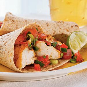 grilled fish tacos m - ~ fish fajitas ~